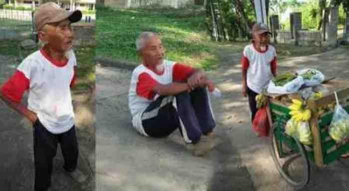 Tega, Uang Hasil Jual Pisang Kakek ini Dirampok Pria Bermobil
