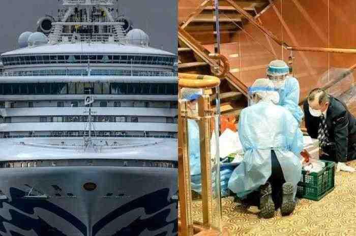 Diduga Terinfeksi Corona 3 WNI di Kapal Pesiar Dikarantina