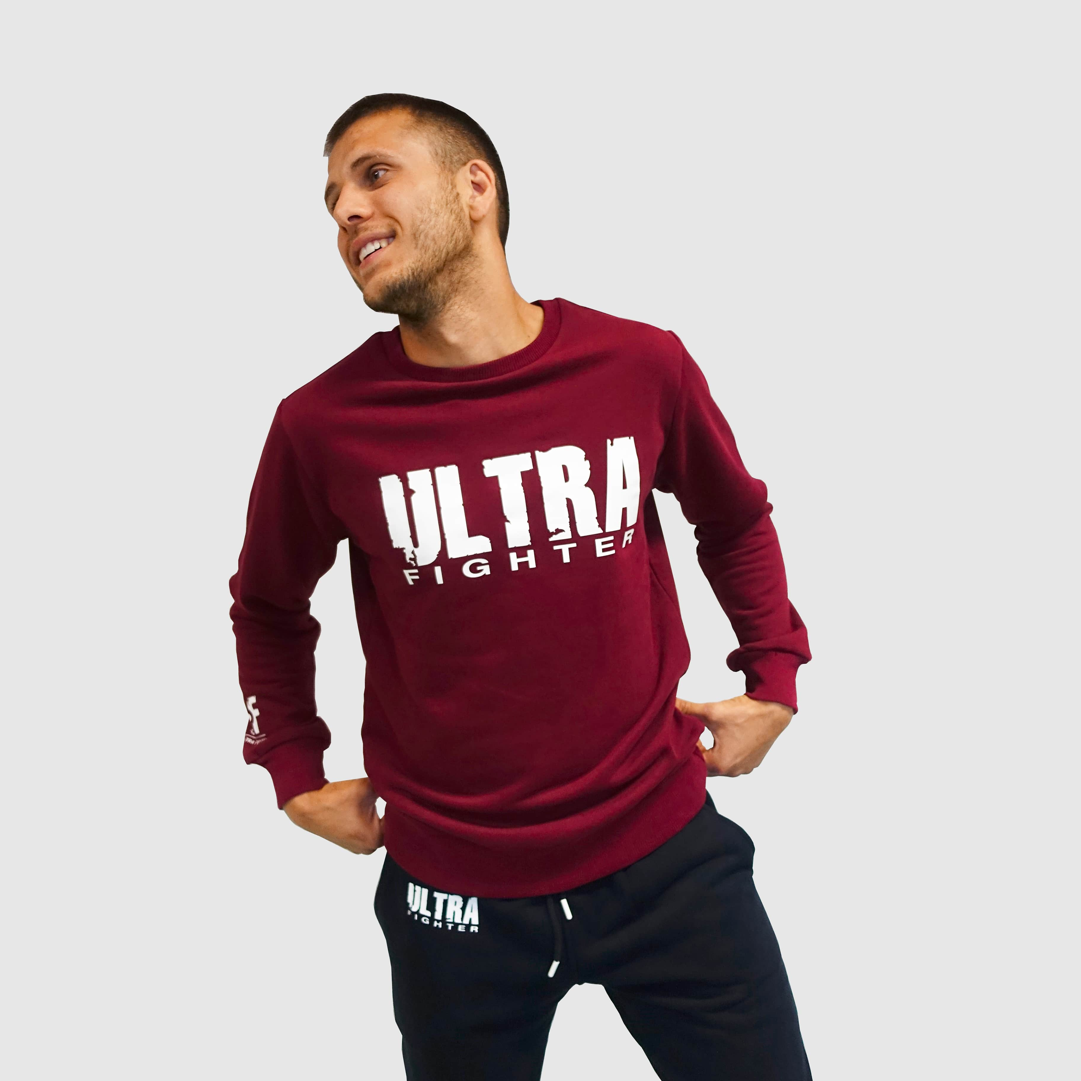 Sweater bordeaux 1