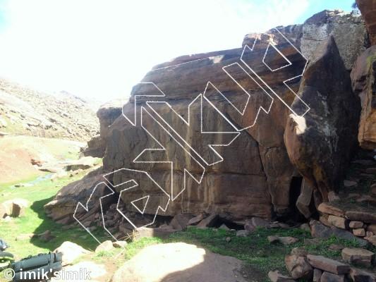photo of Fin from Oukaimeden Bouldering Morocco