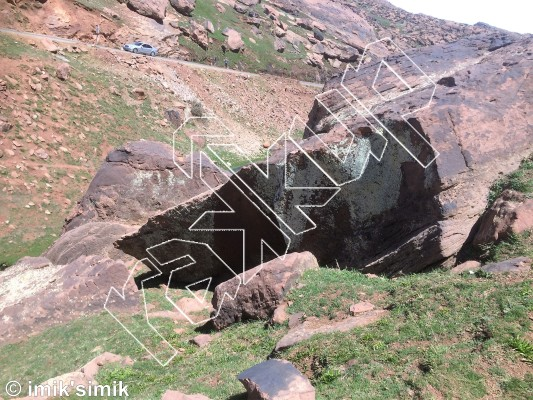 photo of Sylvester Stallone  from Oukaimeden Bouldering Morocco