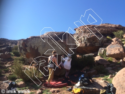 photo of Quick Fix from Oukaimeden Bouldering Morocco