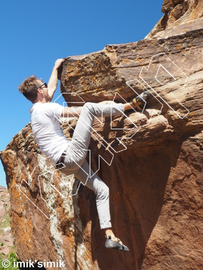 photo of Merkedesh from Oukaimeden Bouldering Morocco
