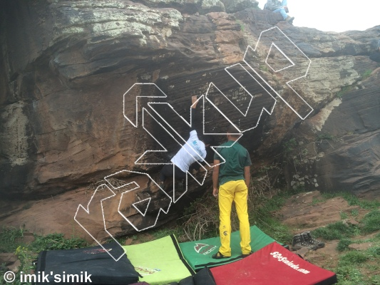 photo of Confiture from Oukaimeden Bouldering Morocco