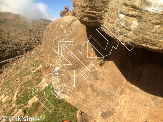 photo of Ishmael from Oukaimeden Bouldering Morocco