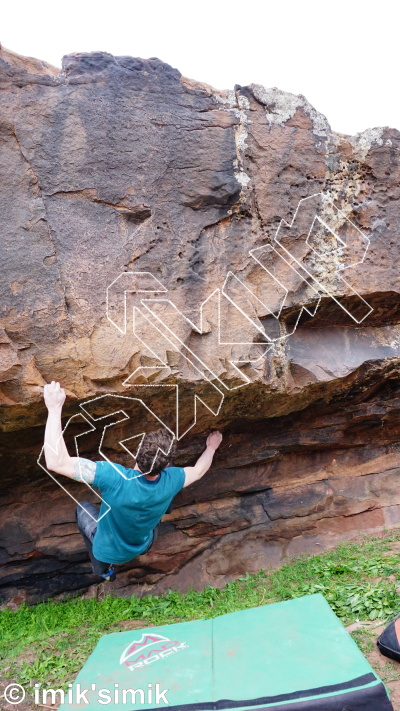 photo of The Meeting from Oukaimeden Bouldering Morocco