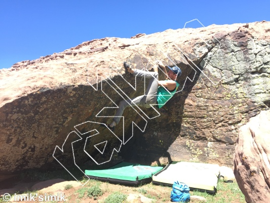 photo of Mohammed V from Oukaimeden Bouldering Morocco