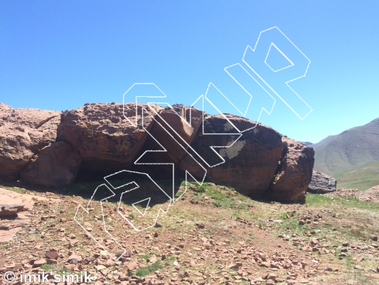 photo of Dali from Oukaimeden Bouldering Morocco