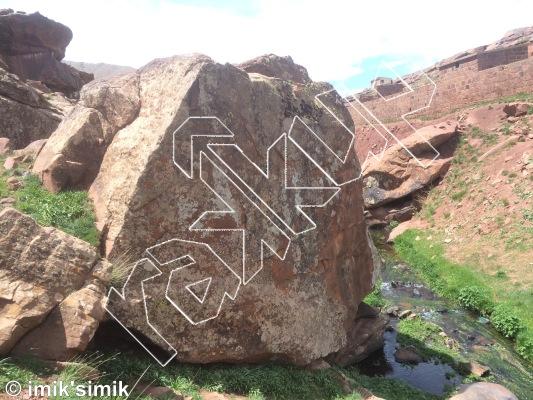 photo of Deej from Oukaimeden Bouldering Morocco