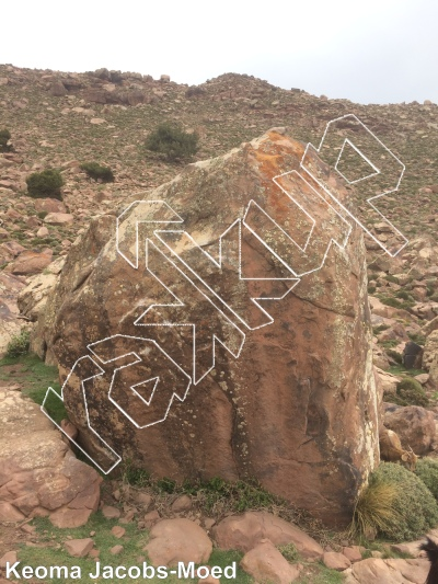 photo of Cornerboys from Oukaimeden Bouldering Morocco