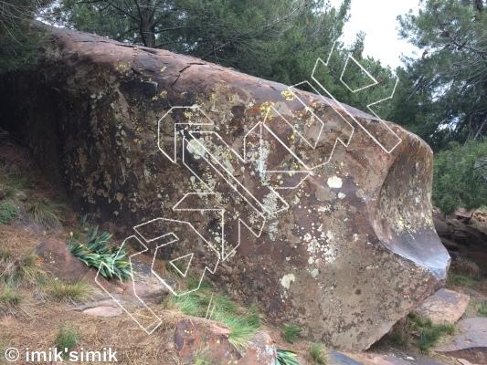 photo of Slide from Oukaimeden Bouldering Morocco