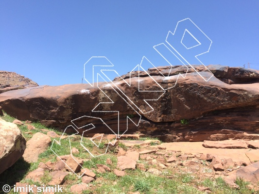 photo of Keoma Therapy from Oukaimeden Bouldering Morocco