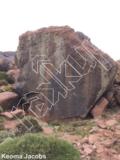 photo of Ezran from Oukaimeden Bouldering Morocco