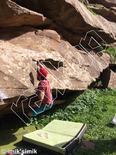photo of Hop Of The Press from Oukaimeden Bouldering Morocco