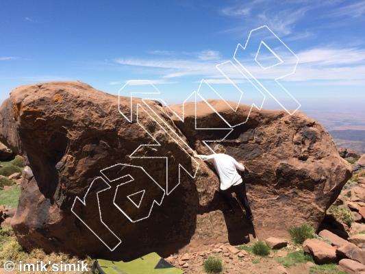 photo of Razor from Oukaimeden Bouldering Morocco