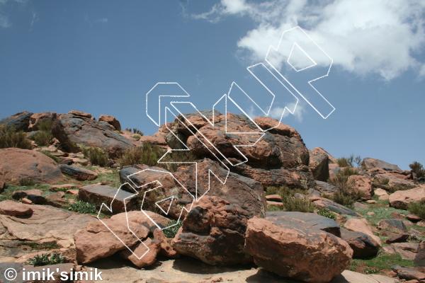 photo of Lumumbashi from Oukaimeden Bouldering Morocco