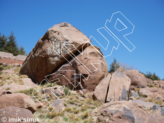 photo of Tooth Cavity from Oukaimeden Bouldering Morocco
