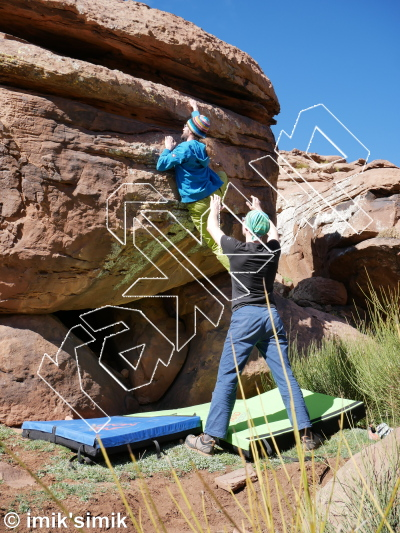 photo of Kerfe from Oukaimeden Bouldering Morocco