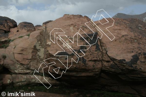 photo of Waylon from Oukaimeden Bouldering Morocco