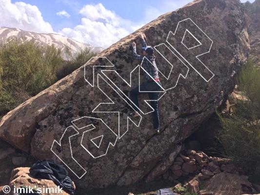 photo of Politea from Oukaimeden Bouldering Morocco