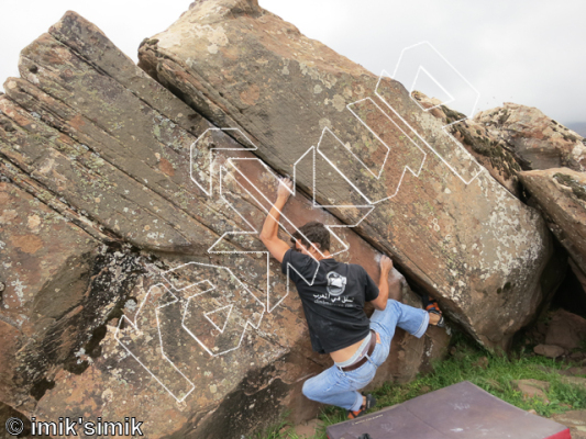 photo of Creation Regained from Oukaimeden Bouldering Morocco