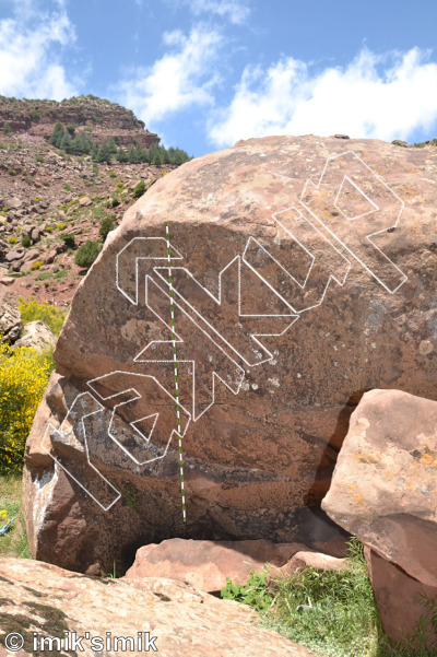 photo of Band zonder naam from Oukaimeden Bouldering Morocco