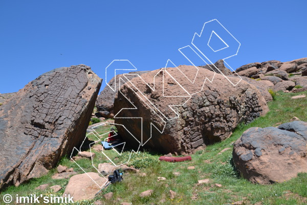 photo of Boulemma from Oukaimeden Bouldering Morocco