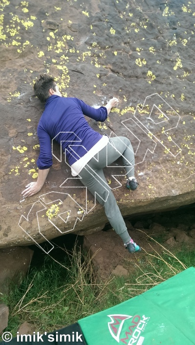 photo of Agri from Oukaimeden Bouldering Morocco
