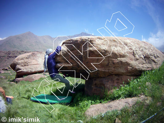 photo of After Party from Oukaimeden Bouldering Morocco
