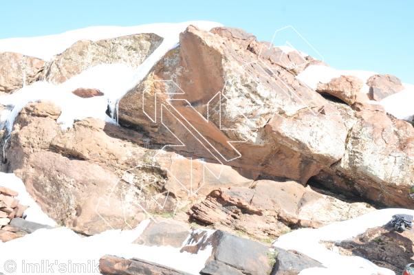 photo of Ashen-Shugar from Oukaimeden Bouldering Morocco