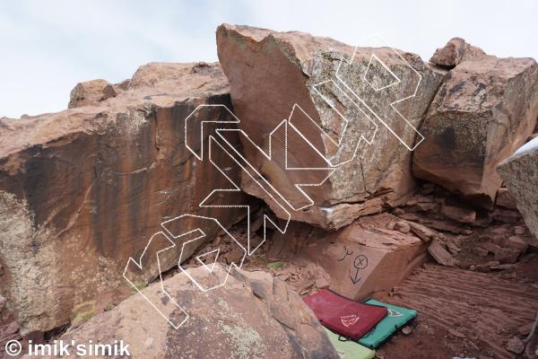 photo of Sankara from Oukaimeden Bouldering Morocco