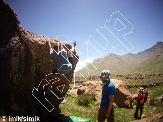 photo of Michelle from Oukaimeden Bouldering Morocco