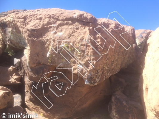 photo of I'am Morocco from Oukaimeden Bouldering Morocco