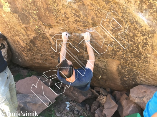 photo of Hidden Gem  from Oukaimeden Bouldering Morocco
