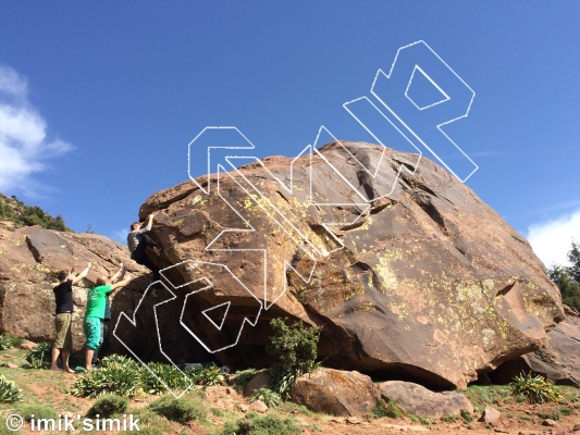 photo of Sahabi  from Oukaimeden Bouldering Morocco