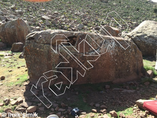 photo of Baby Boulder from Oukaimeden Bouldering Morocco