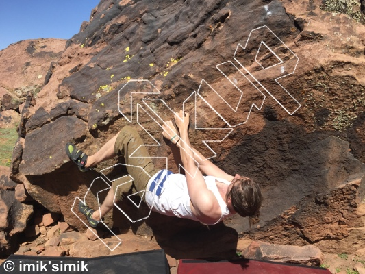 photo of Hanuman from Oukaimeden Bouldering Morocco