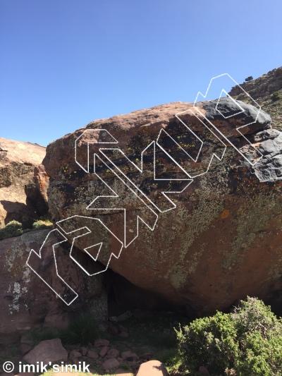 photo of Centennial from Oukaimeden Bouldering Morocco