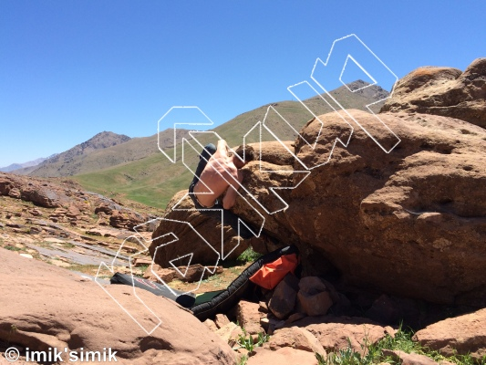 photo of Opel from Oukaimeden Bouldering Morocco
