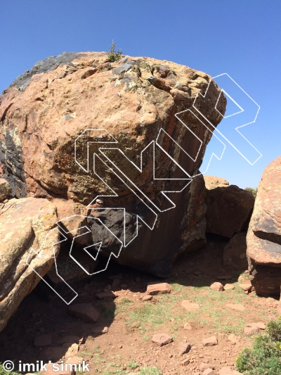 photo of Great Name from Oukaimeden Bouldering Morocco