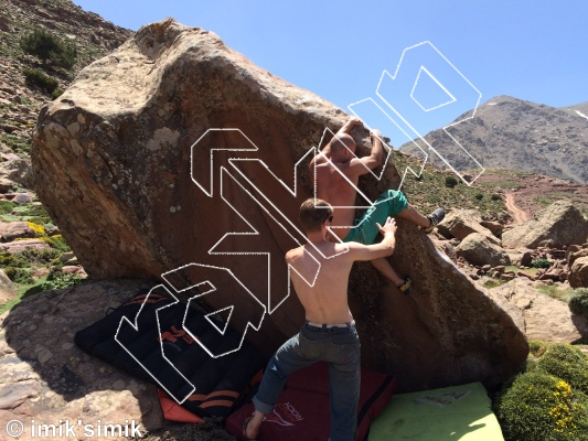 photo of Walou from Oukaimeden Bouldering Morocco