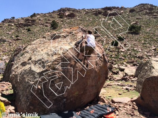 photo of Howl from Oukaimeden Bouldering Morocco