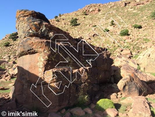 photo of Bug from Oukaimeden Bouldering Morocco