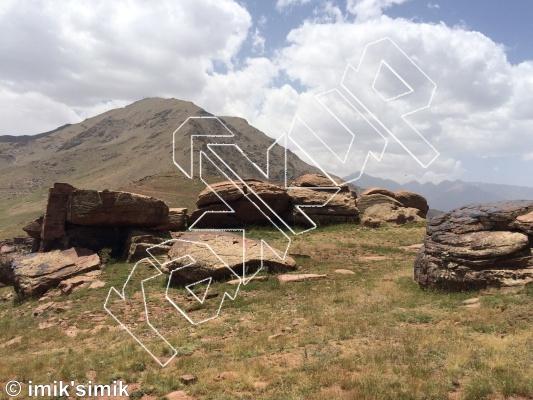 photo of Para from Oukaimeden Bouldering Morocco