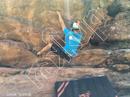 photo of Azziz from Oukaimeden Bouldering Morocco