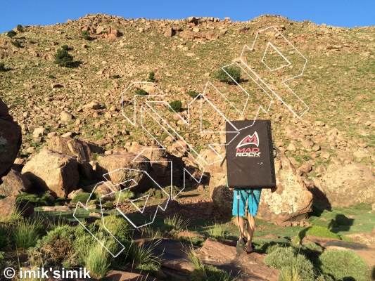 photo of CAF & Crash Pad Rental  from Oukaimeden Bouldering Morocco