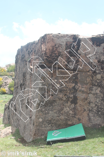 photo of Cube from Oukaimeden Bouldering Morocco