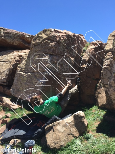 photo of The Mechanic from Oukaimeden Bouldering Morocco