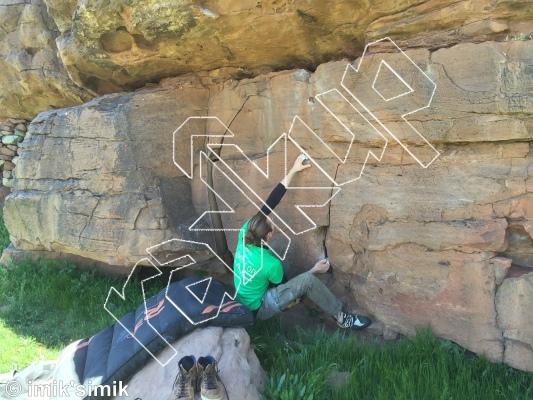 photo of Brrt & Ernie from Oukaimeden Bouldering Morocco