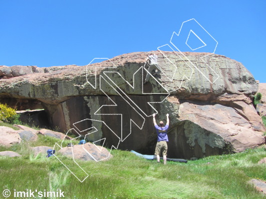 photo of Famous Grouse from Oukaimeden Bouldering Morocco